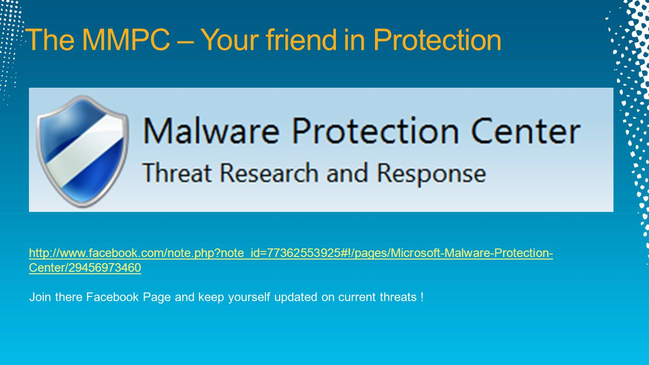 The MMPC – Your friend in Protection