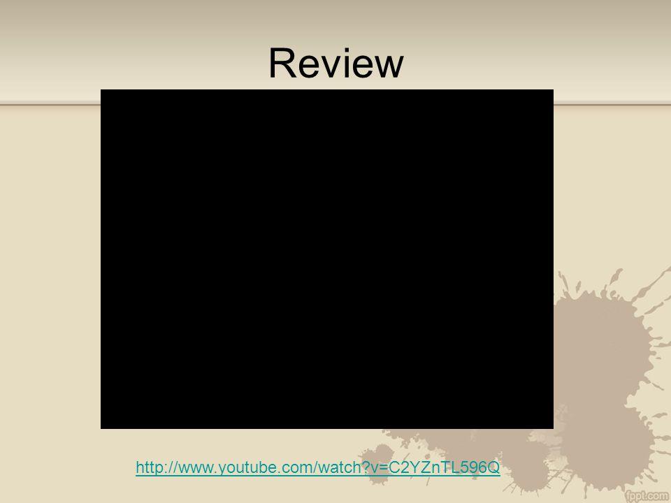 Review http://www.youtube.com/watch?v=C2YZnTL596Q