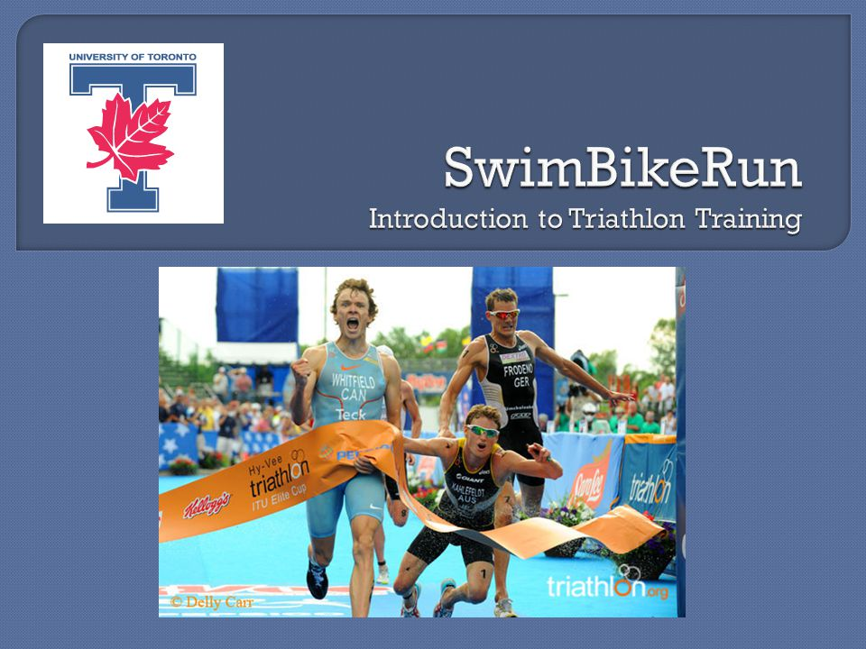 1.Executive Summary 2. Triathlon – Background 3. Where to Start.