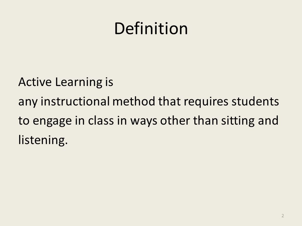 Why Do Students Resist Active Learning.According to Richard M.