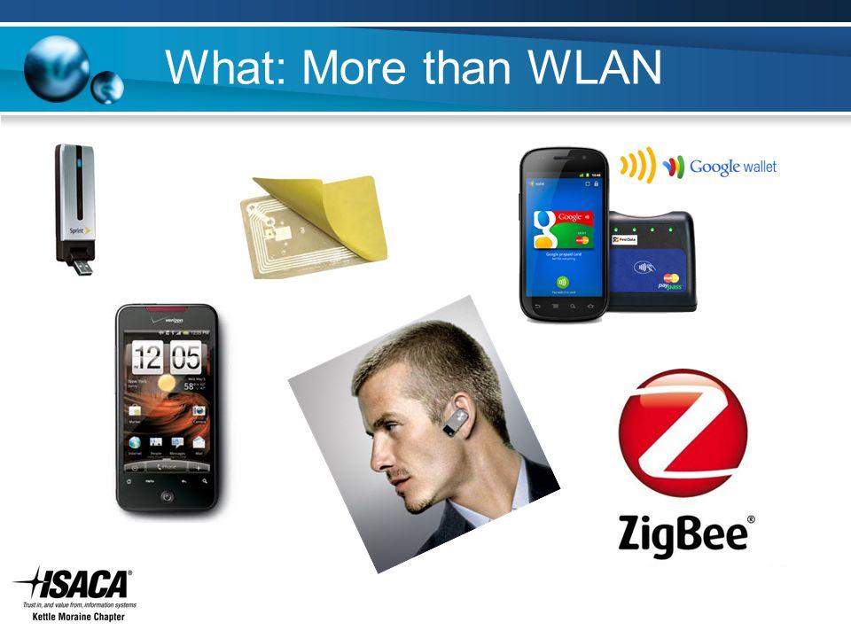 What: More than WLAN