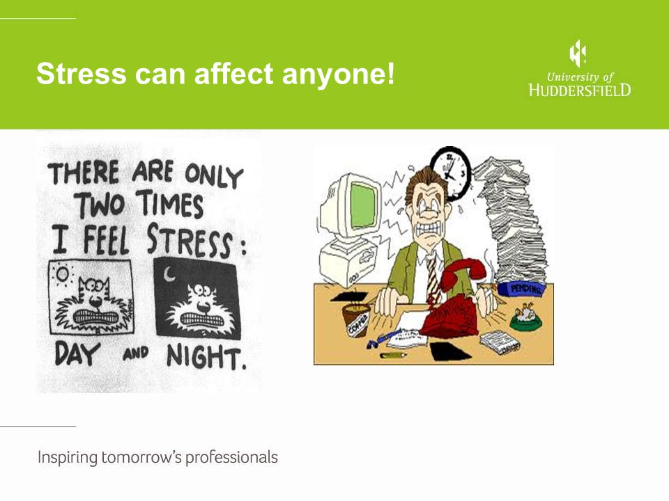 Sources of Stress ' There is considerable variation in the way individuals perceive and respond to the environments in which they work' Noblet and Lamontagne 2006 Please follow the below link to watch the first part of a case study we will revisit this case later on in the course http://www.hse.gov.uk/stress/video/danstory- new1.htm