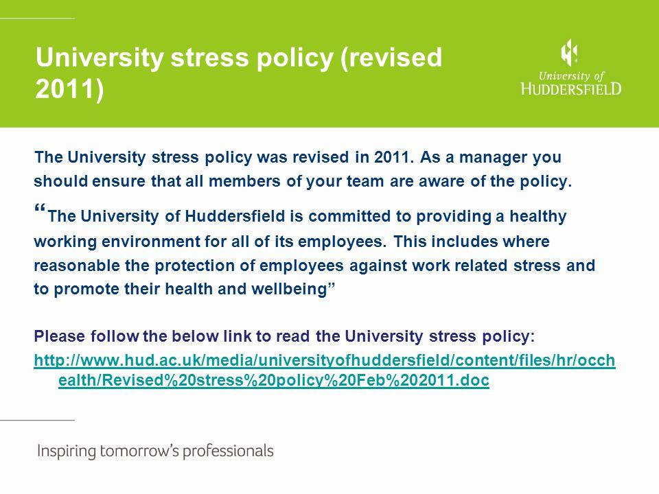 Stress risk assessment Case Study 2.