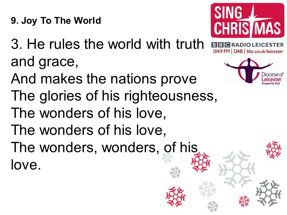 9. Joy To The World 3.