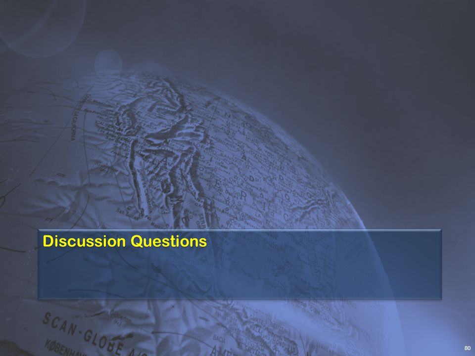 Discussion Questions 80