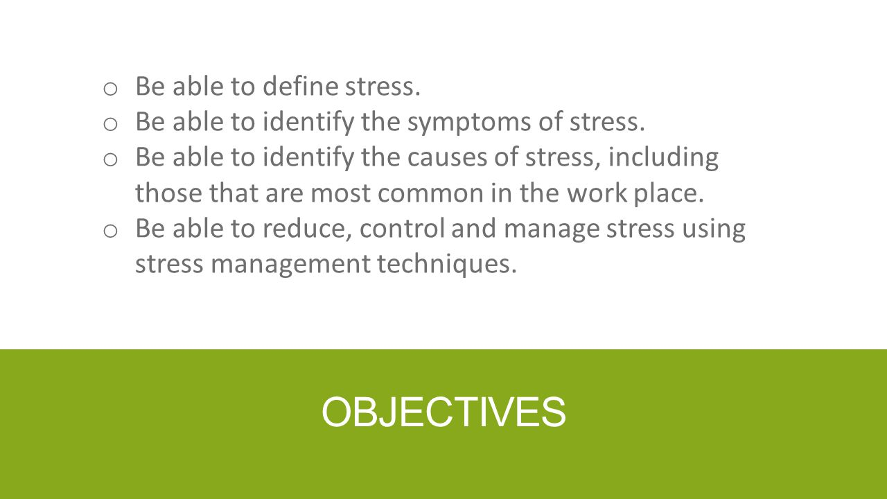 DEFINED Workplace stress is harmful physical and emotional responses that occur when the requirements of the job do not match the capabilities, resources, or needs of the employee.