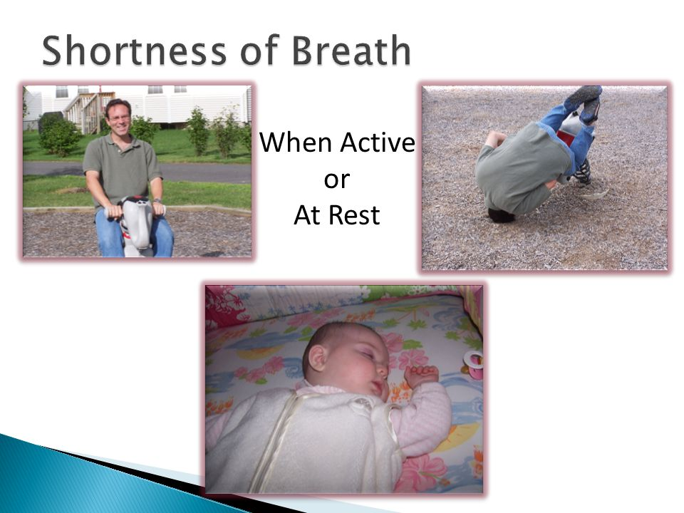 When Active or At Rest