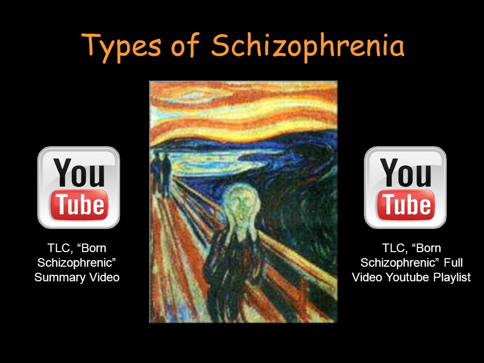 Types of Schizophrenia TLC, Born Schizophrenic Summary Video TLC, Born Schizophrenic Full Video Youtube Playlist