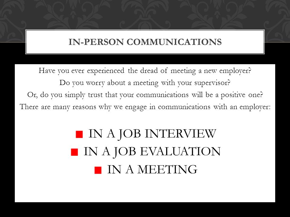 My biggest challenges in workplace communications are: My strengths in workplace communications are: I have difficulty communicating this in the workplace: I can communicate this well in the workplace: LET'S GET INTERACTIVE