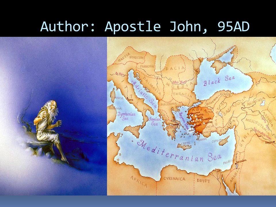 Author: Apostle John, 95AD