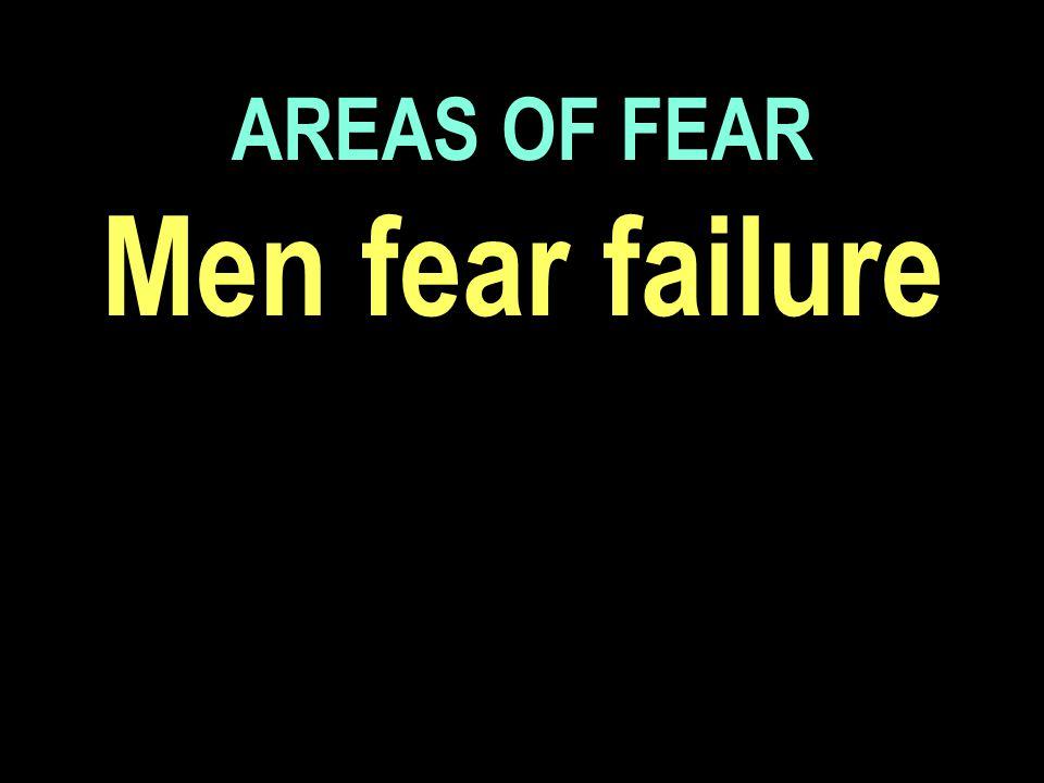 Men fear failure