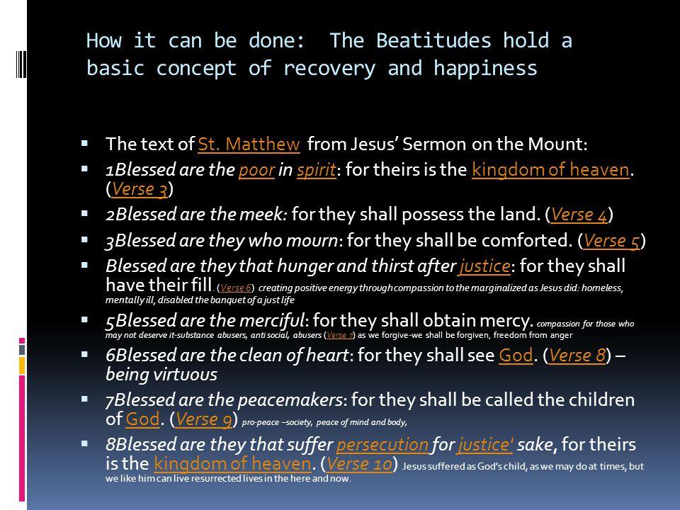  1.The Kingdom of Heaven-Imagine Heaven is, what is it like.