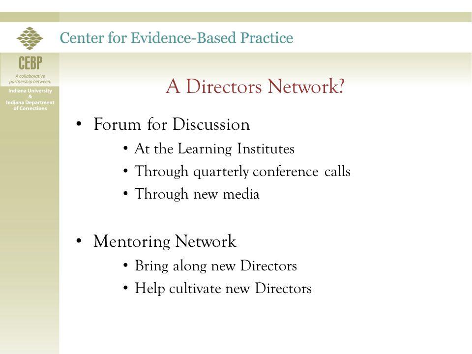 A Directors Network.
