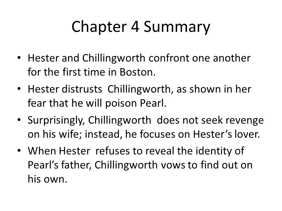 Chapter 24 Summary This denouement chapter brings the novel to a logical conclusion.