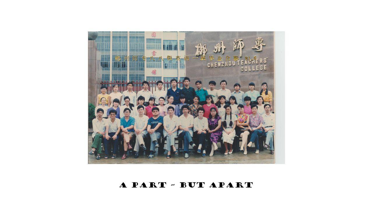 A part – but apart