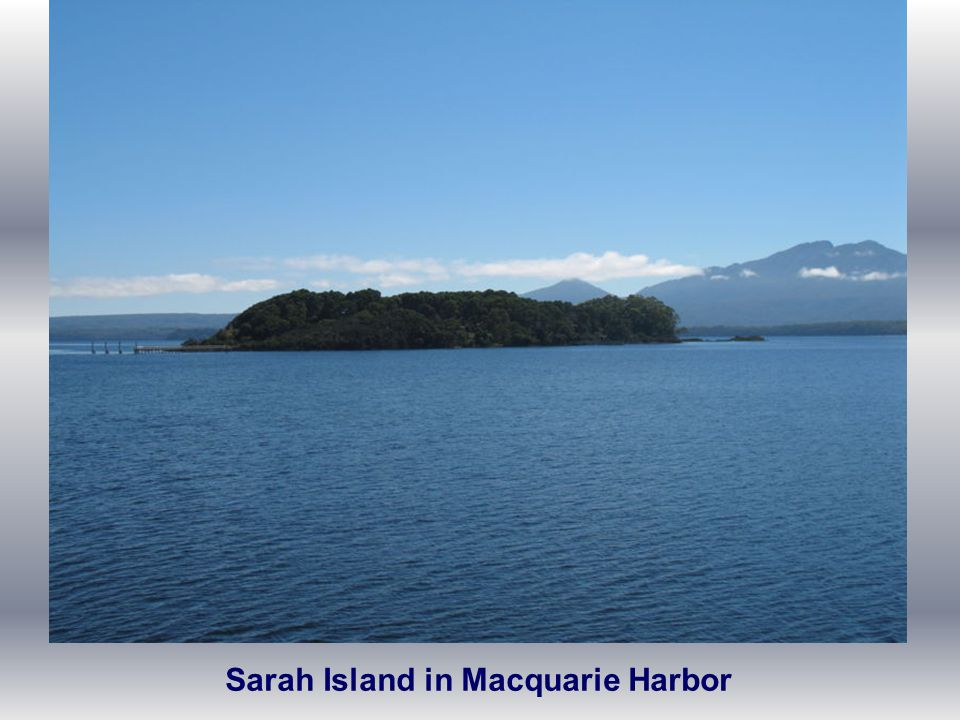 Sarah Island in Macquarie Harbor