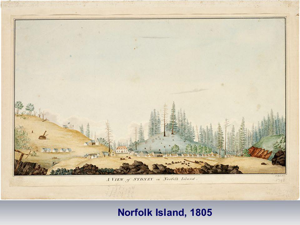 Norfolk Island, 1805