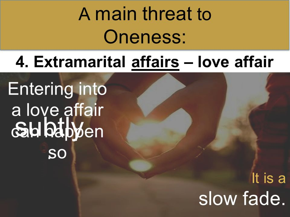Which kind of extramarital affair is most tempting to you.