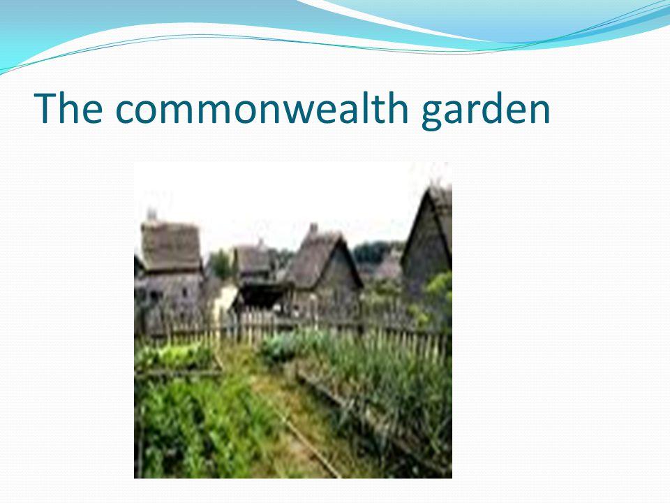 The commonwealth garden