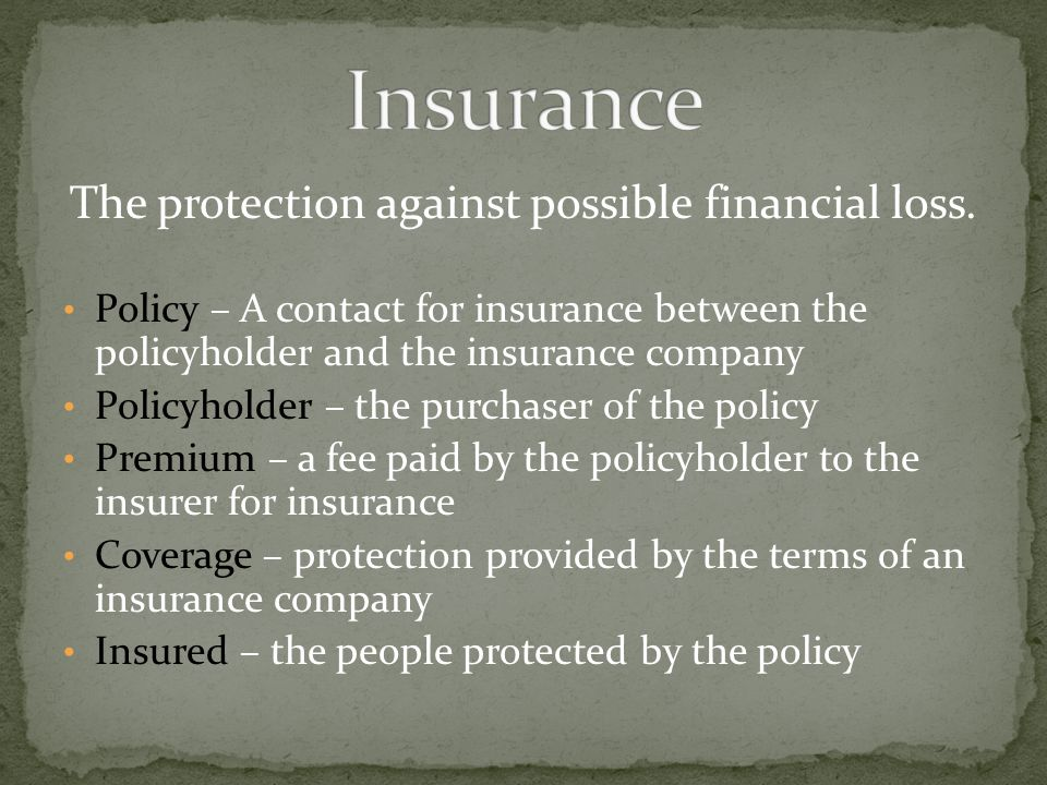 Insurance that applies to the medical expenses of anyone who is injured in your vehicle, including you.