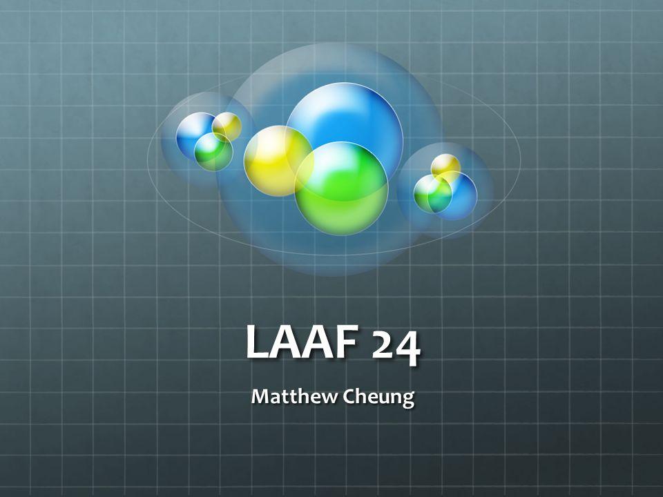 LAAF 24 Matthew Cheung