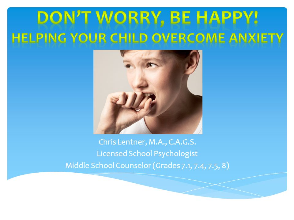 Childhood Anxiety Comes in Many Different Forms SS eparation Anxiety Disorder OO veranxious Disorder / Generalized Anxiety Disorder AA voidant Personality Disorder PP hobic disorders PP ost-traumatic Stress Disorder (PTSD) OO bsessive-compulsive Disorder (OCD) PP anic Disorder AA nxiety associated with medical conditions SS ubstance-induced anxiety disorder Types of Anxiety Disorders In Children