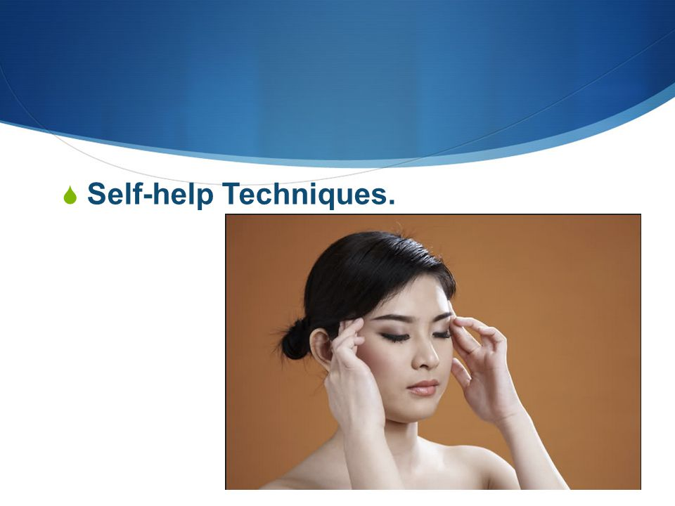  Self-help Techniques.