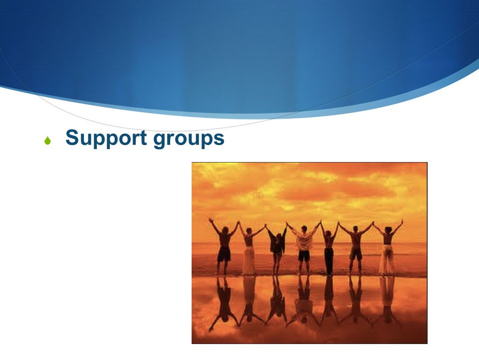  Support groups