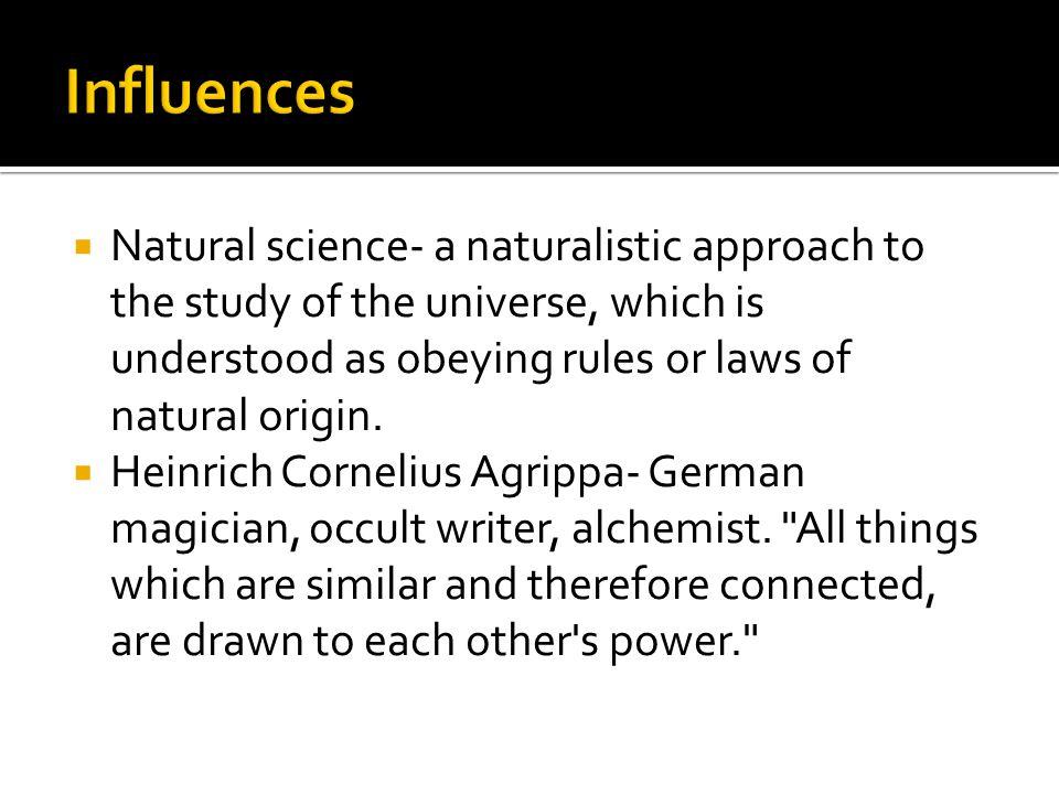  Paracelsus- Renaissance physician, botonist, occultist, astrologer, and alchemist.