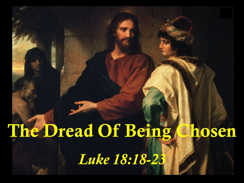 The Dread Of Being Chosen Is Rooted In The Fact That Being Chosen Means The Acceptance Of Tension.