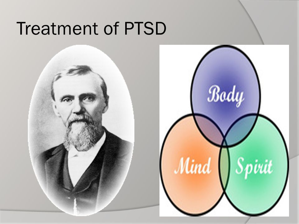 Treatment of PTSD
