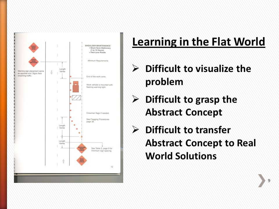 Put Another Way » …learners have to: ˃orient themselves ˃navigate within complex information spaces ˃search for and evaluate information ˃understand and integrate multiple representations to build coherent knowledge structures. (Schnotz & Rasch) 10 Learning in the Flat World