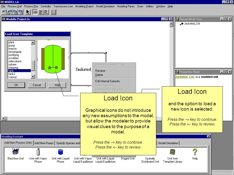 Acetic Anhydride Plant Refinement The process of refinement, simulation and refinement continues, where simulation at each level of detail determines decisions made at the subsequent level.