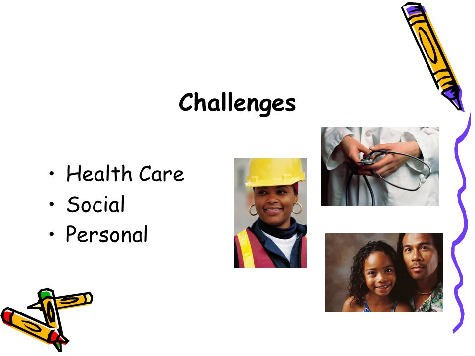 Challenges Health Care Social Personal