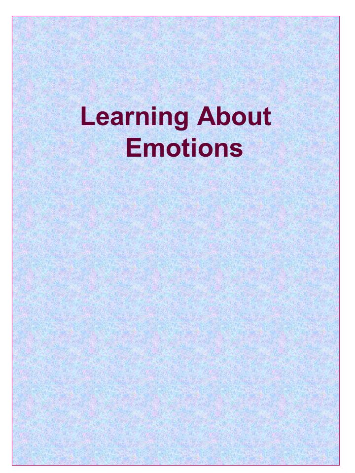 Learning About Emotions