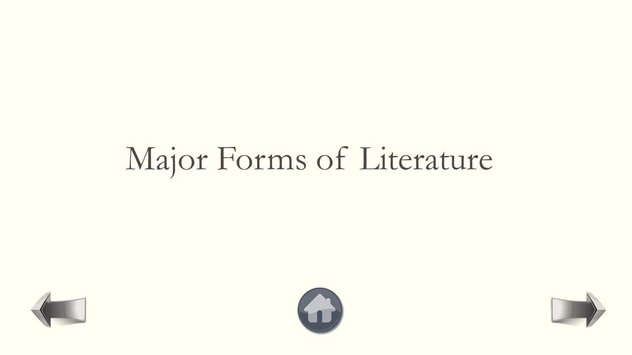 More Information Literary Genres:  http://en.wikipedia.org/wiki/Literary_genre http://en.wikipedia.org/wiki/Literary_genre  http://en.wikipedia.org/wiki/List_of_literary_ genres] http://en.wikipedia.org/wiki/List_of_literary_ genres  http://www.jlls.org/Issues/Volume1/No.1/m urathismanoglu.pdf http://www.jlls.org/Issues/Volume1/No.1/m urathismanoglu.pdf  http://www.ux1.eiu.edu/~cfder/GenreCharact eristicsChart.pdf http://www.ux1.eiu.edu/~cfder/GenreCharact eristicsChart.pdf  http://www.aber.ac.uk/media/Documents/int genre/chandler_genre_theory.pdf http://www.aber.ac.uk/media/Documents/int genre/chandler_genre_theory.pdf For reading books in different genres:  www.goodreads.com www.goodreads.com  http://www.feedbooks.com/publicdomain http://www.feedbooks.com/publicdomain