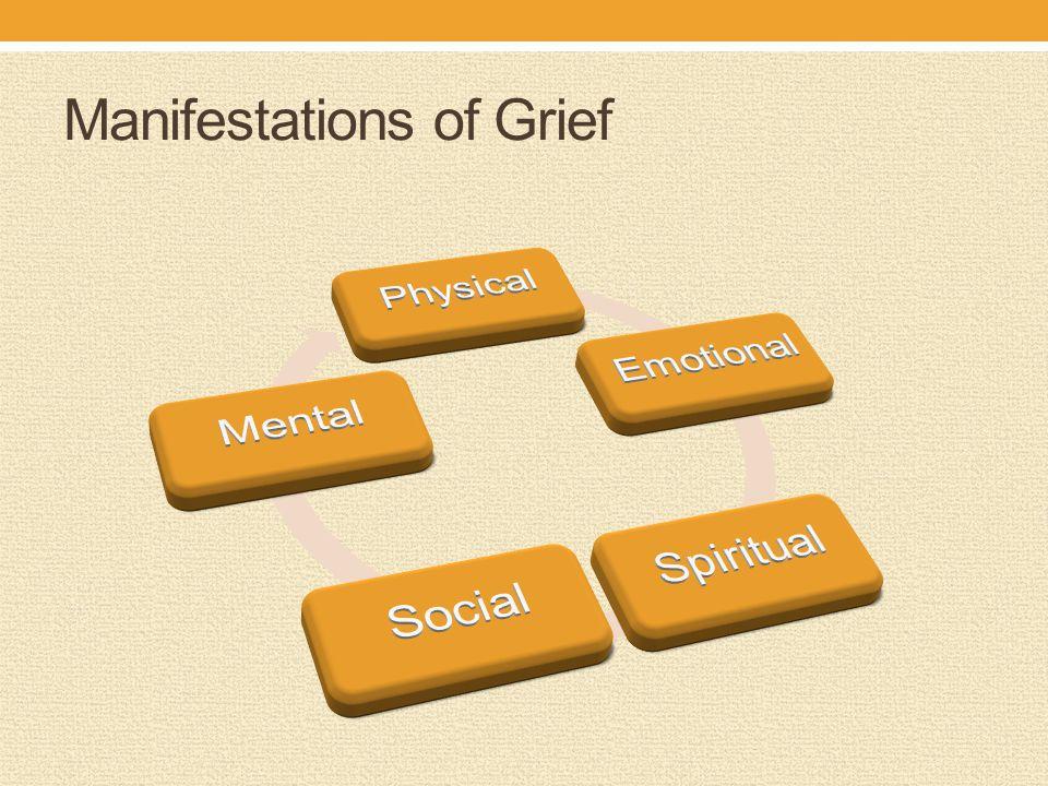 Manifestations of Grief