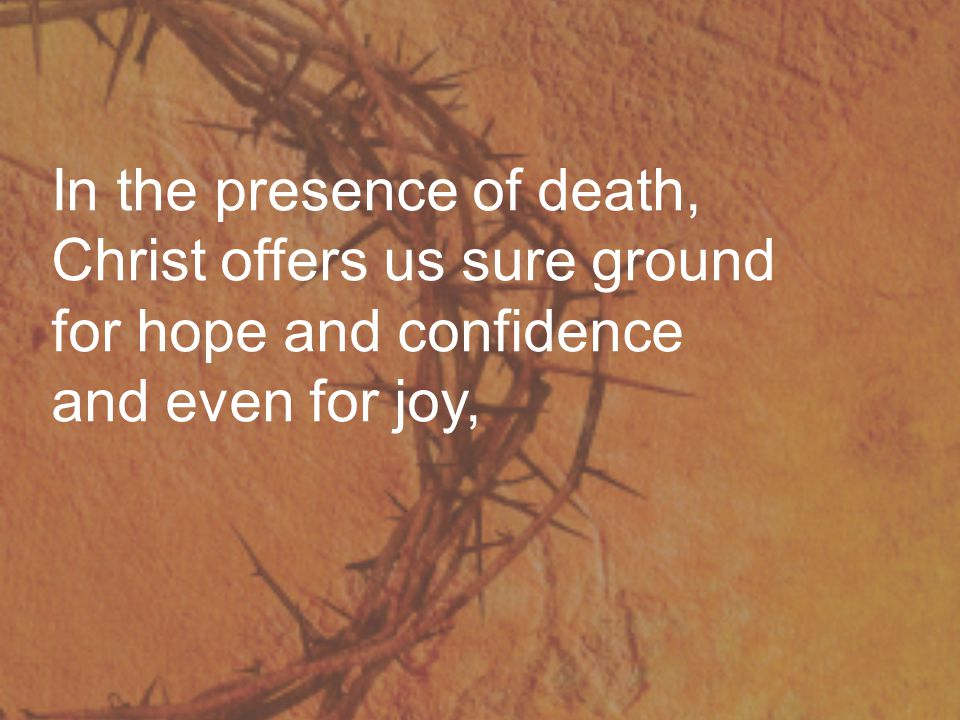 because he shared our human life and death, was raised again triumphant and lives for evermore.