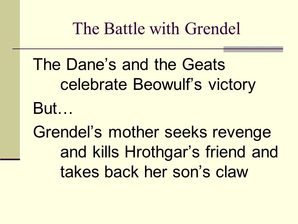 How can I write an essay about why Grendel killed so many people in the Beowulf story?