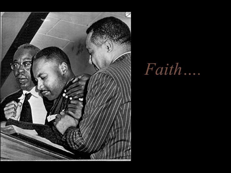 Faith….