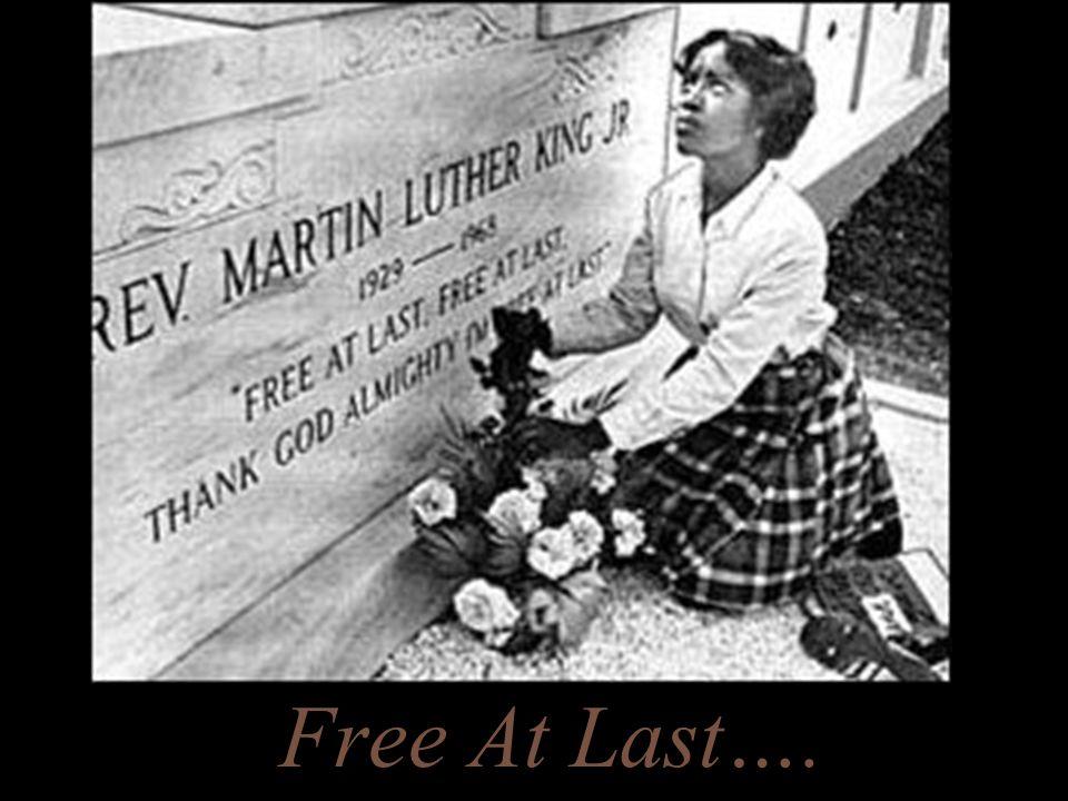 Free At Last….
