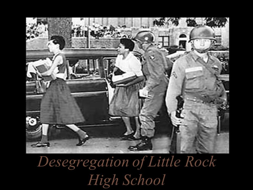 Desegregation of Little Rock High School