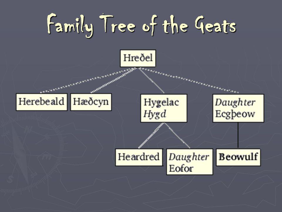 Family Tree of the Geats