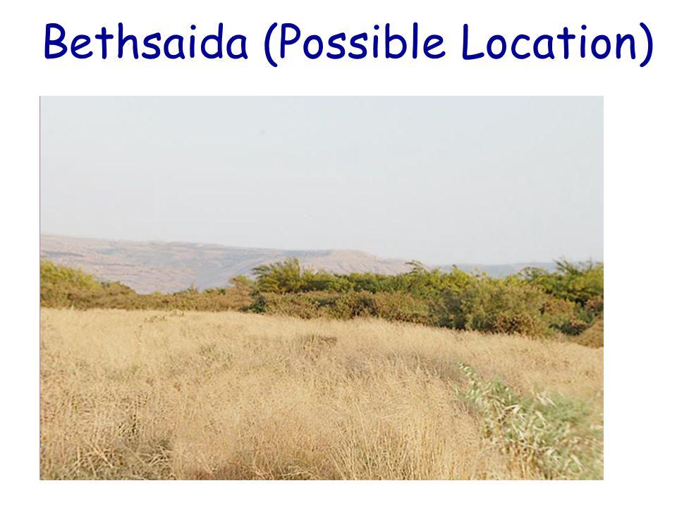 Bethsaida (Possible Location)