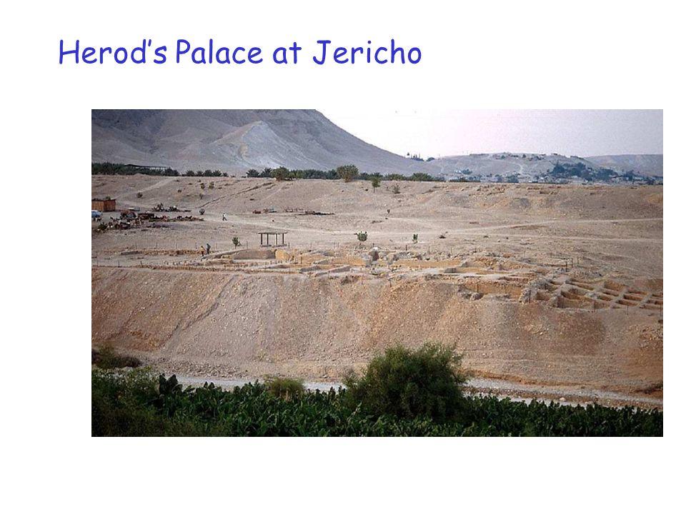 Herod's Palace at Jericho