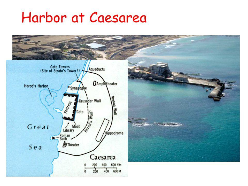 Harbor at Caesarea