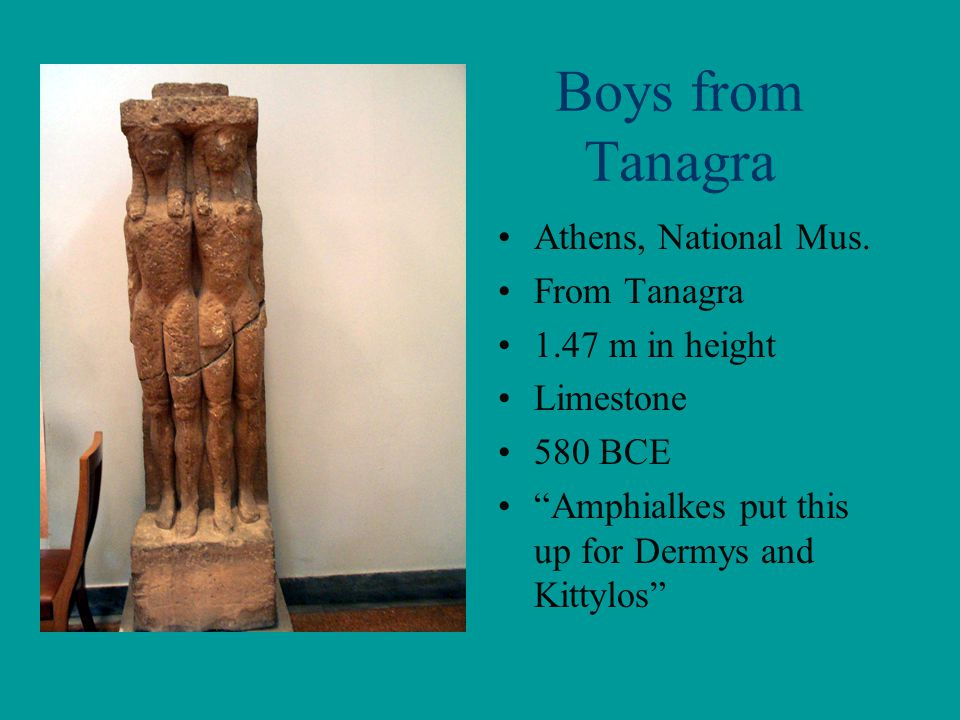 Boys from Tanagra Athens, National Mus.