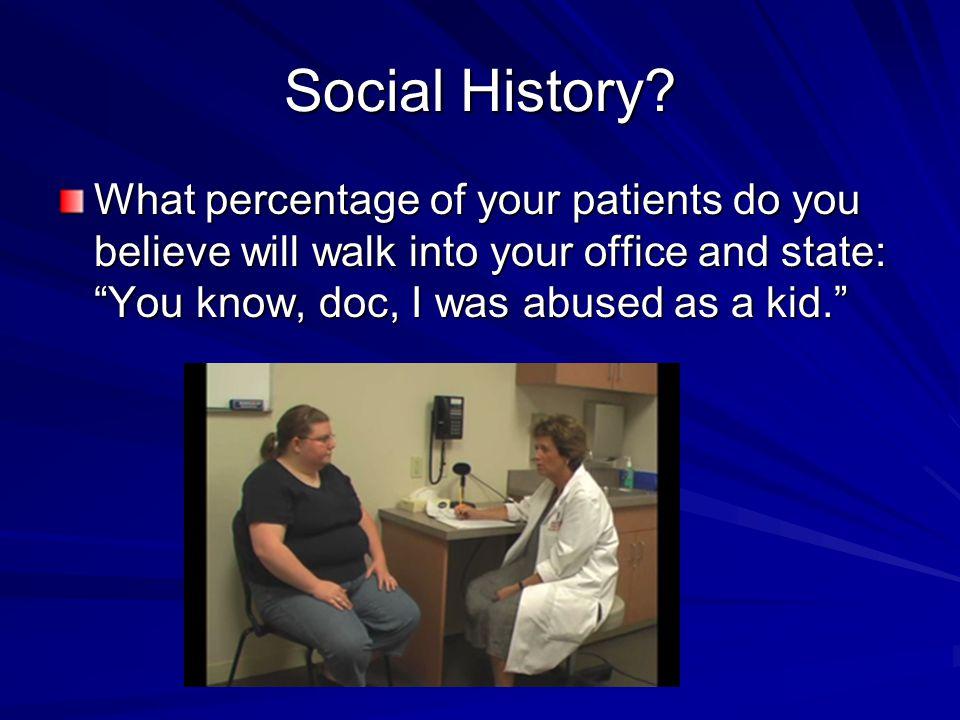 Social History.
