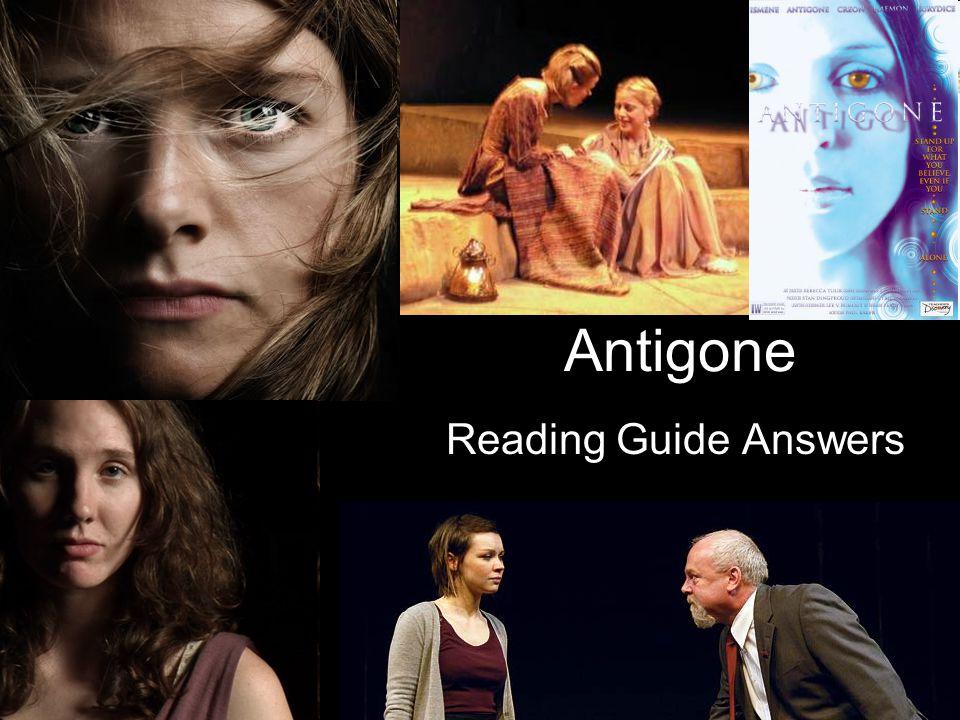 Antigone Reading Guide Answers