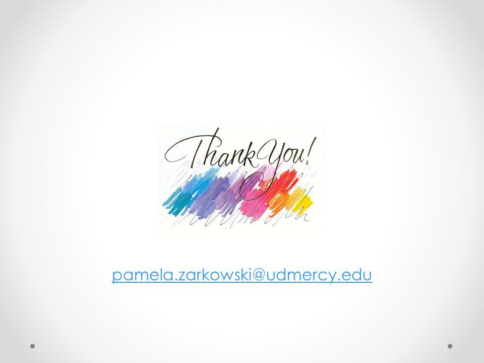 pamela.zarkowski@udmercy.edu